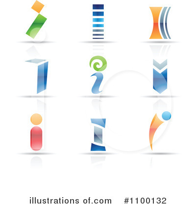 Letter Logo Clipart #1100132 by cidepix