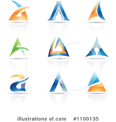 Letter A Clipart #1100135 by cidepix