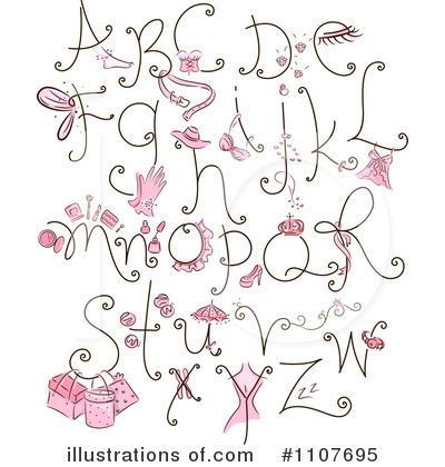 Letter I Clipart #1107695 by BNP Design Studio