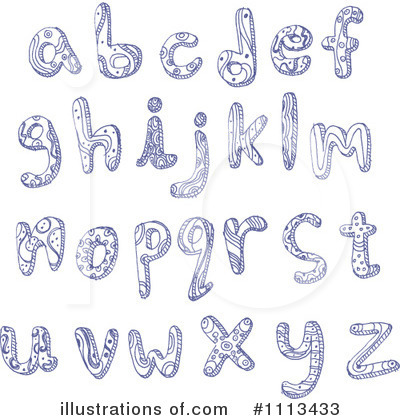 Letters Clipart #1113433 by yayayoyo