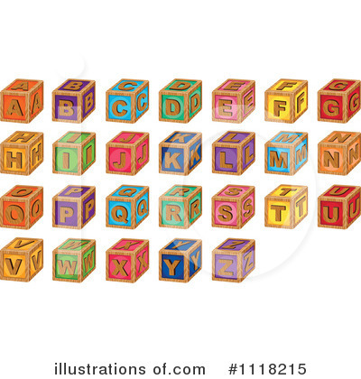 Letter I Clipart #1118215 by Graphics RF