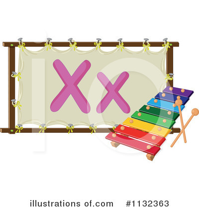 Xylophone Clipart #1132363 by Graphics RF