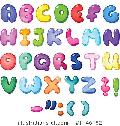 Letters Clipart #1146152 by yayayoyo