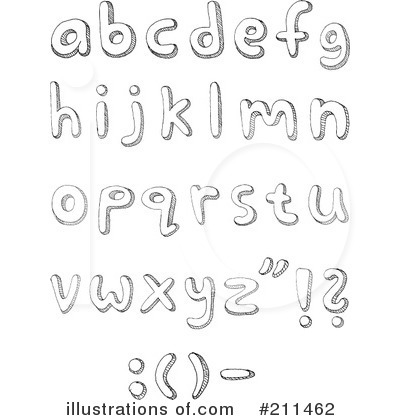 Letters Clipart #211462 by yayayoyo