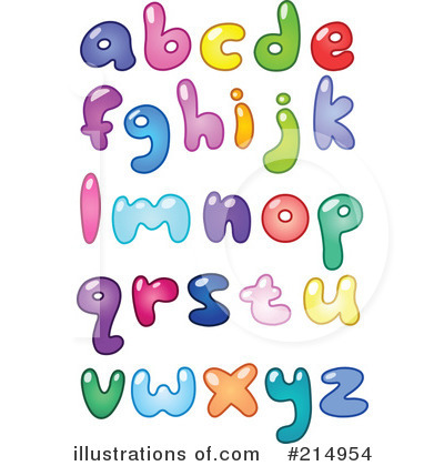 Letters Clipart #214954 by yayayoyo