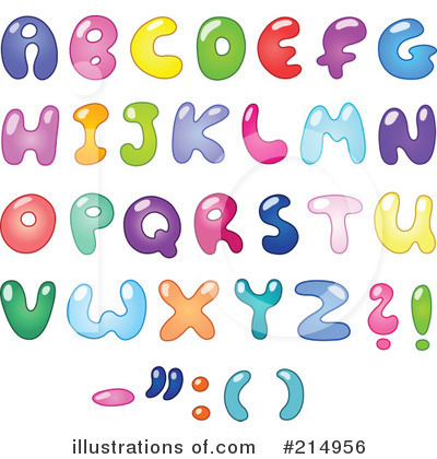 Letters Clipart #214956 by yayayoyo