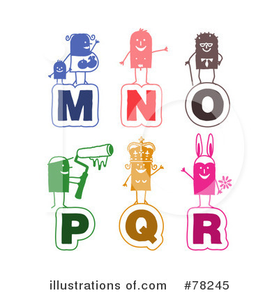 Letters Clipart #78245 by NL shop