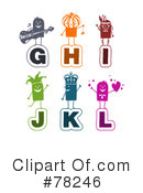 Letters Clipart #78246 by NL shop