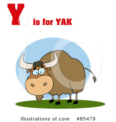 Yak Clipart #85412 - Illustration by Hit Toon