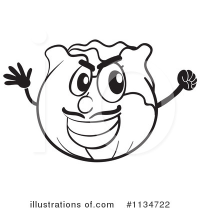 Cabbage Clipart #1134722 by Graphics RF