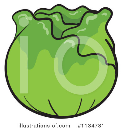 Royalty free rf lettuce clipart illustration by colematt stock