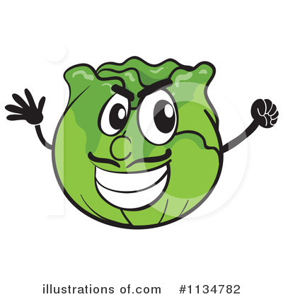 Cabbage Clipart #1134782 by Graphics RF