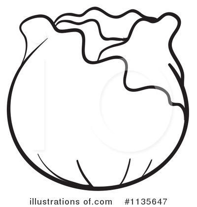 Cabbage Clipart #1135647 by Graphics RF