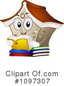 Library Clipart #1097307 by BNP Design Studio