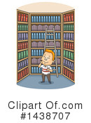Library Clipart #1438707 by BNP Design Studio