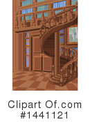 Library Clipart #1441121 by Pushkin