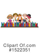 Library Clipart #1522351 by Graphics RF