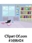 Library Clipart #1698424 by BNP Design Studio