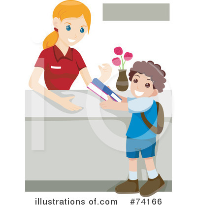 Librarian Clipart #74166 by BNP Design Studio