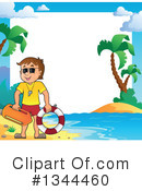 Lifeguard Clipart #1344460 by visekart