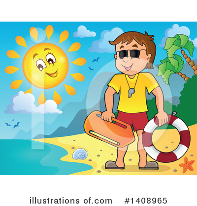 Shore Clipart #1408965 by visekart