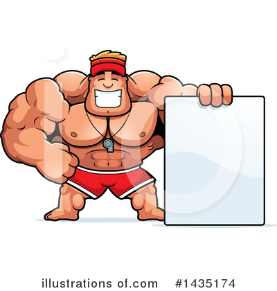 Lifeguard Clipart #1435174 by Cory Thoman