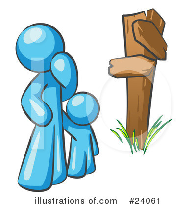 Royalty-Free (RF) Light Blue Collection Clipart Illustration by Leo Blanchette - Stock Sample #24061