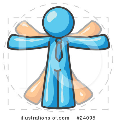 Light Blue Collection Clipart #24095 by Leo Blanchette