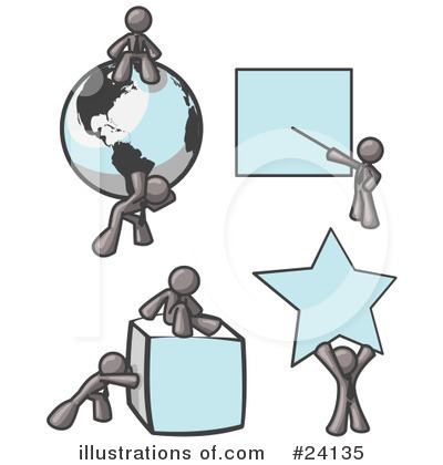 Globe Clipart #24135 by Leo Blanchette