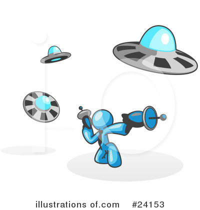 Alien Clipart #24153 by Leo Blanchette