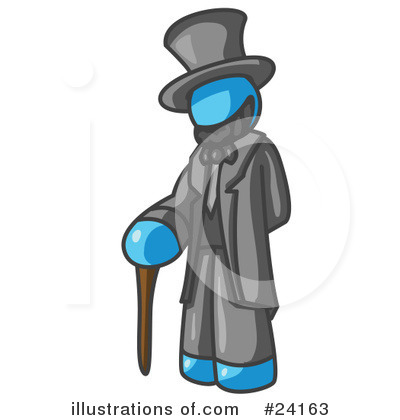 Abraham Lincoln Clipart #24163 by Leo Blanchette