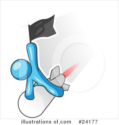 Missiles Clipart #24177 by Leo Blanchette
