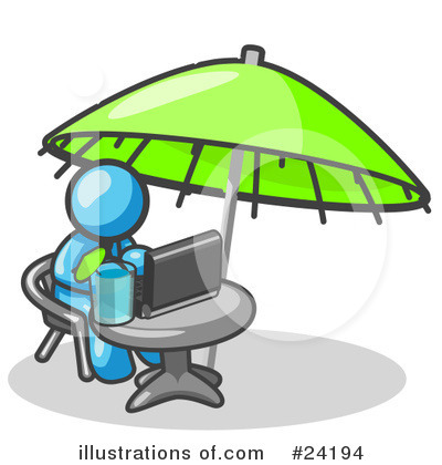 Vacation Clipart #24194 by Leo Blanchette