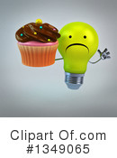 Light Bulb Character Clipart #1349065 by Julos