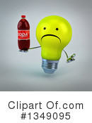 Light Bulb Character Clipart #1349095 by Julos