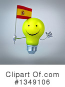 Light Bulb Character Clipart #1349106 by Julos