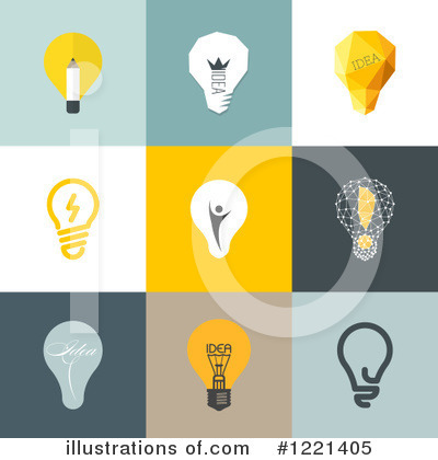 Lightbulb Clipart #1221405 by elena
