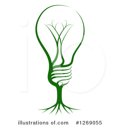 Light Bulb Clipart #1269055 by AtStockIllustration