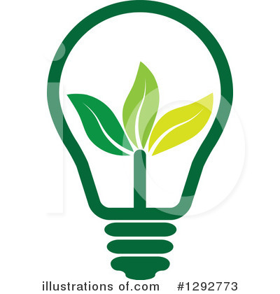 Light Bulb Clipart #1292773 by ColorMagic