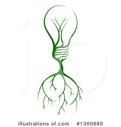 Light Bulb Clipart #1300880 by AtStockIllustration
