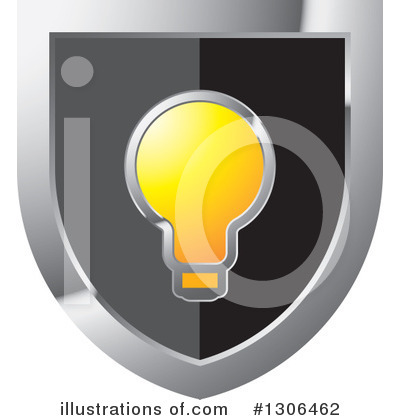 Royalty-Free (RF) Light Bulb Clipart Illustration by Lal Perera - Stock Sample #1306462
