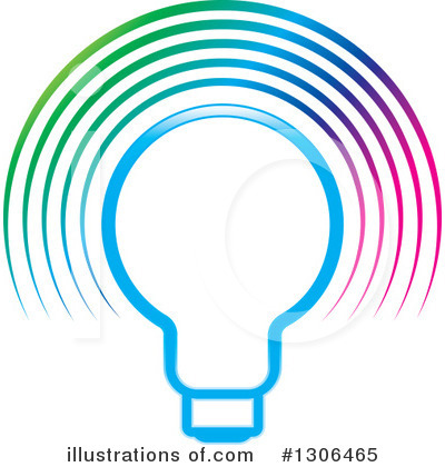 Light Bulb Clipart #1306465 by Lal Perera