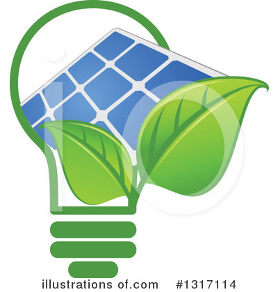Solar Energy Clipart #1317114 by Vector Tradition SM