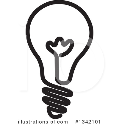 Light Bulb Clipart #1342101 by ColorMagic