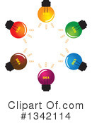 Light Bulb Clipart #1342114 by ColorMagic