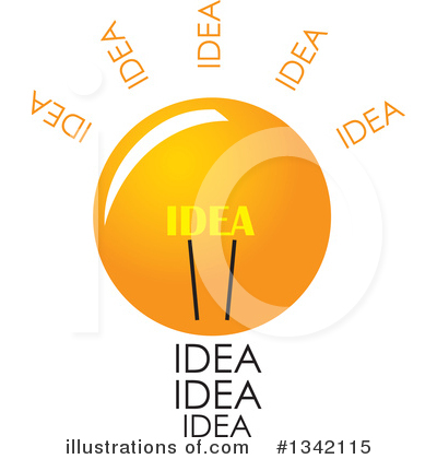 Light Bulb Clipart #1342115 by ColorMagic