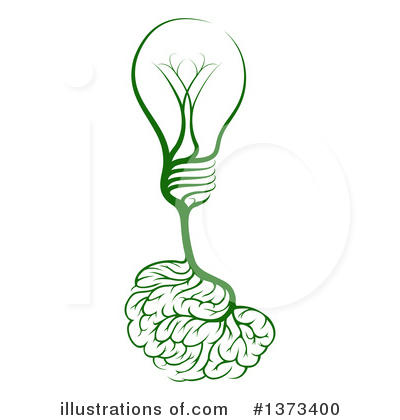 Royalty-Free (RF) Light Bulb Clipart Illustration by AtStockIllustration - Stock Sample #1373400
