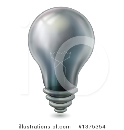 Light Bulb Clipart #1375354 by BNP Design Studio
