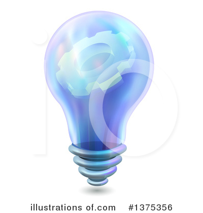 Light Bulb Clipart #1375356 by BNP Design Studio