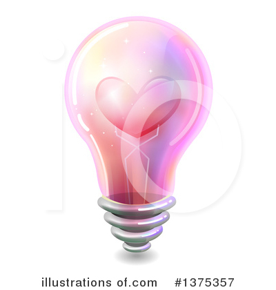 Light Bulb Clipart #1375357 by BNP Design Studio